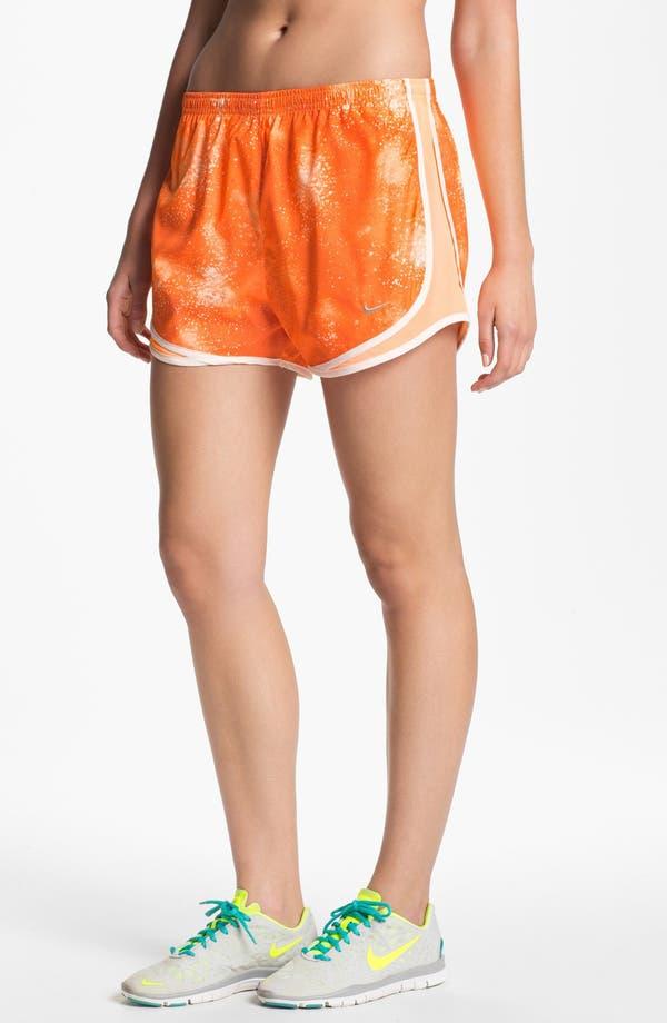 Alternate Image 1 Selected - Nike 'Tempo' Print Running Shorts