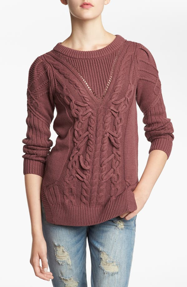 Alternate Image 1 Selected - Tildon Cable Knit Sweater