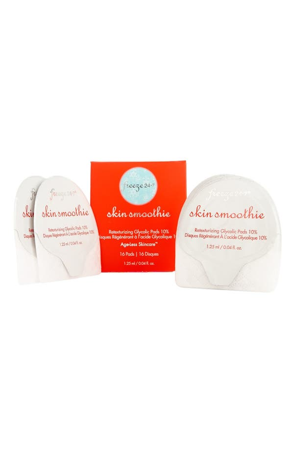 Main Image - Freeze 24-7® 'Skin Smoothie' Retexturizing Glycolic Pads