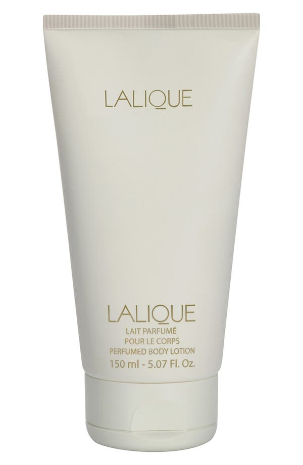 'Lalique de Lalique' Body Lotion,                             Main thumbnail 1, color,                             No Color