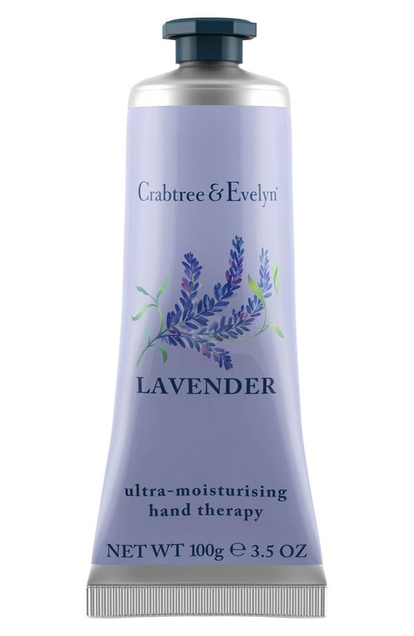 Alternate Image 1 Selected - Crabtree & Evelyn 'Lavender' Ultra Moisturizing Hand Therapy