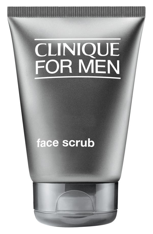 for Men Face Scrub,                             Main thumbnail 1, color,                             No Color