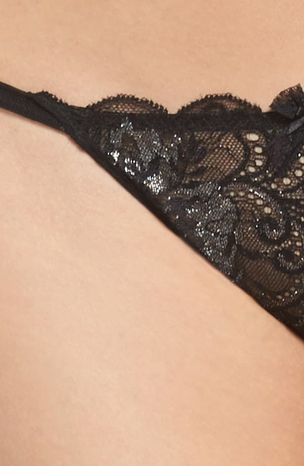 Alternate Image 9  - Le Mystère 'Sophia' Lace Thong