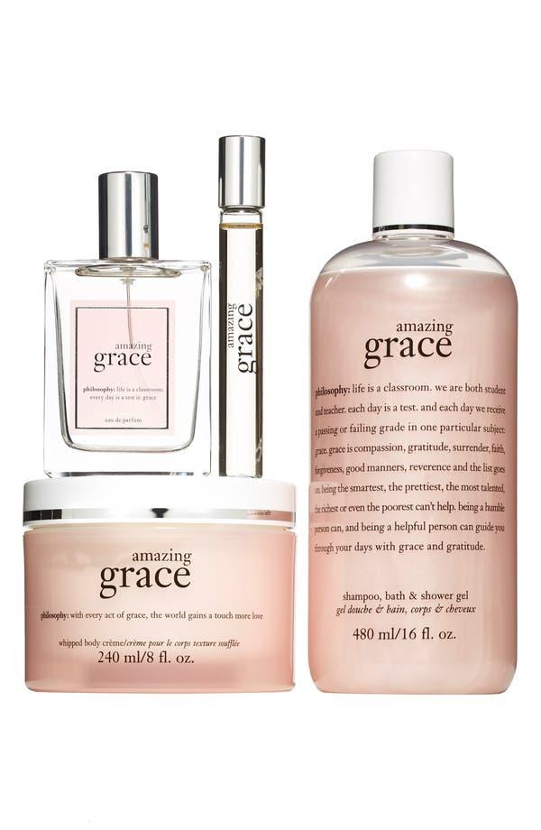 Alternate Image 1 Selected - philosophy 'amazing grace' eau de parfum layering set (Limited Edition) ($130 Value)