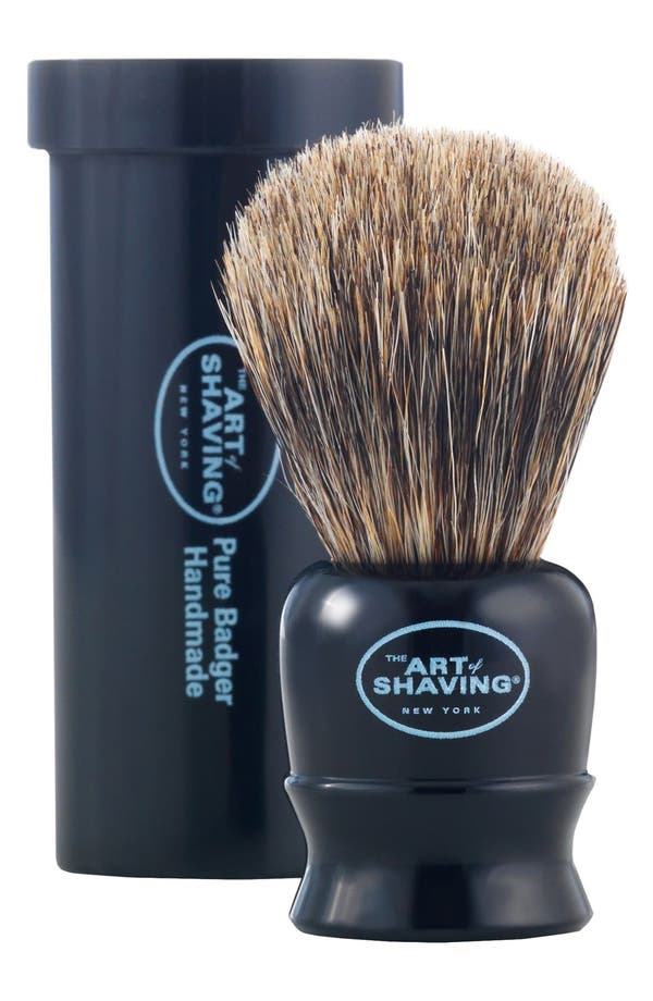 Alternate Image 1 Selected - The Art of Shaving® Pure Badger Travel Brush