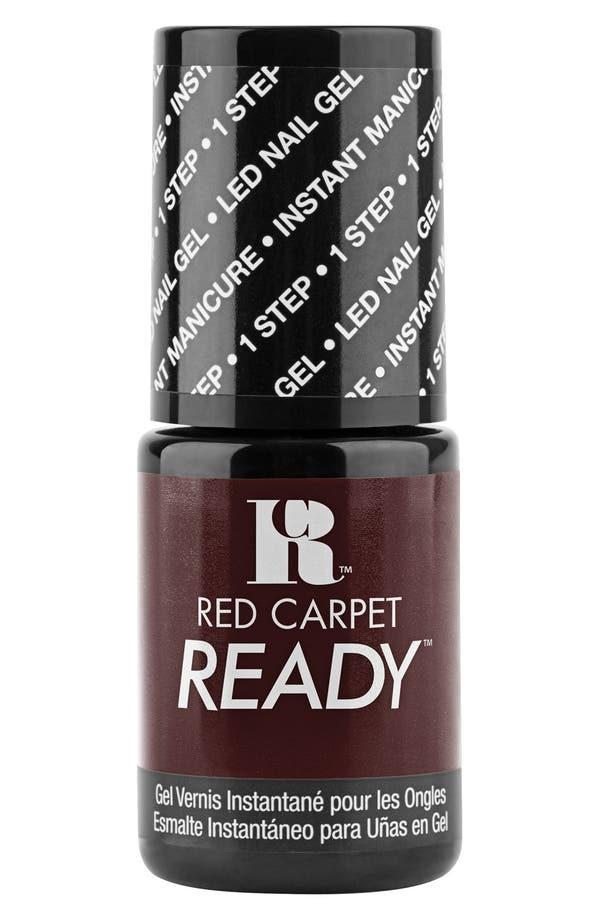 Alternate Image 1 Selected - Red Carpet Manicure 'Red Carpet Ready' LED Nail Gel Polish