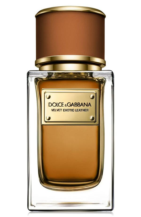 Main Image - Dolce&Gabbana Beauty 'Velvet Exotic Leather' Eau de Parfum