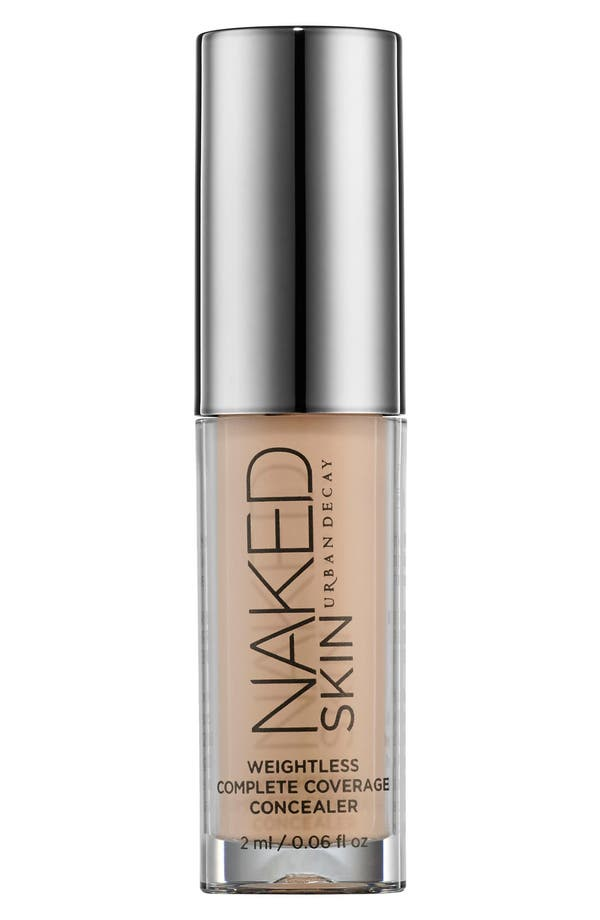 Naked Skin Weightless Complete Coverage Concealer,                             Main thumbnail 1, color,                             Medium Light Neutral