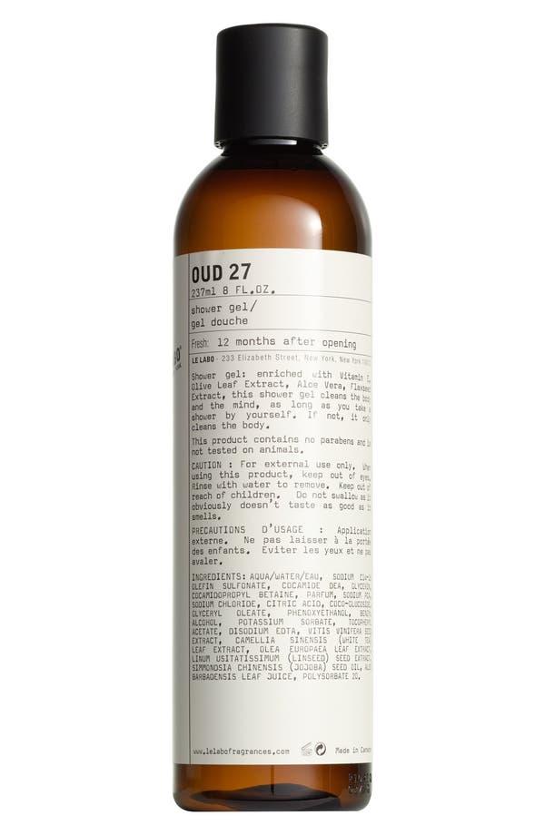 'Oud 27' Shower Gel,                             Main thumbnail 1, color,                             No Color
