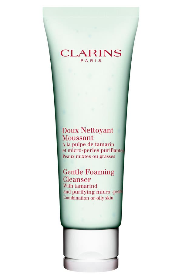 Main Image - Clarins Gentle Foaming Cleanser with Tamarind for Combination/Oily Skin Types