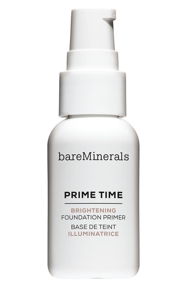 Alternate Image 1 Selected - bareMinerals® Prime Time Brightening Foundation Primer