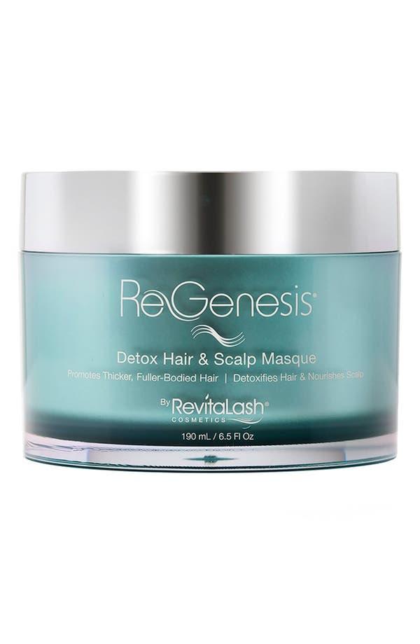 ReGenesis<sup>™</sup> by RevitaLash<sup>®</sup> Detox Hair & Scalp Masque Rejuvenating Formula,                             Main thumbnail 1, color,                             No Color