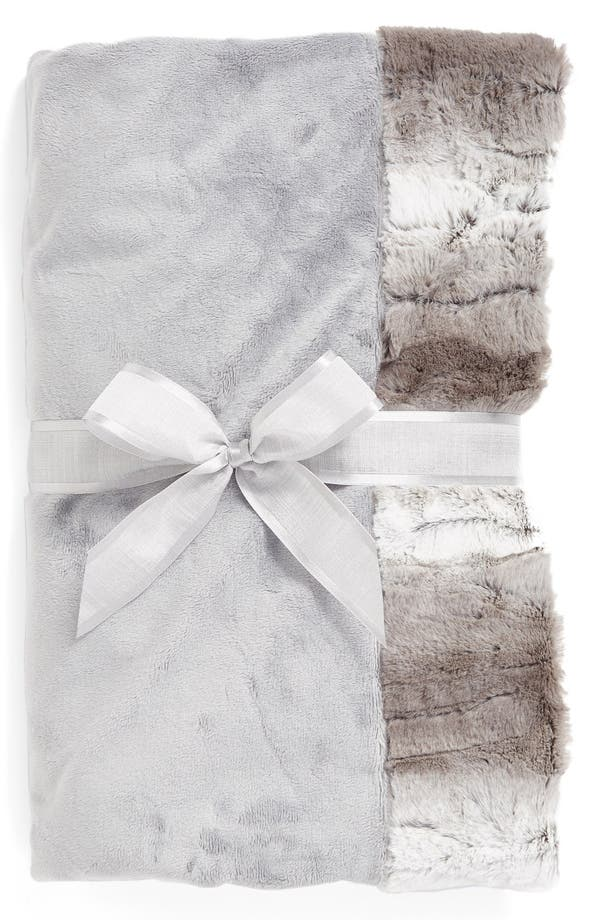 Alternate Image 1 Selected - Sonoma Lavender Silver Ombré Blankie (Nordstrom Exclusive) ($70 Value)