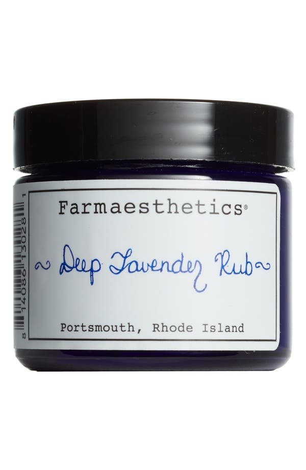 Alternate Image 1 Selected - Farmaesthetics Deep Lavender Rub