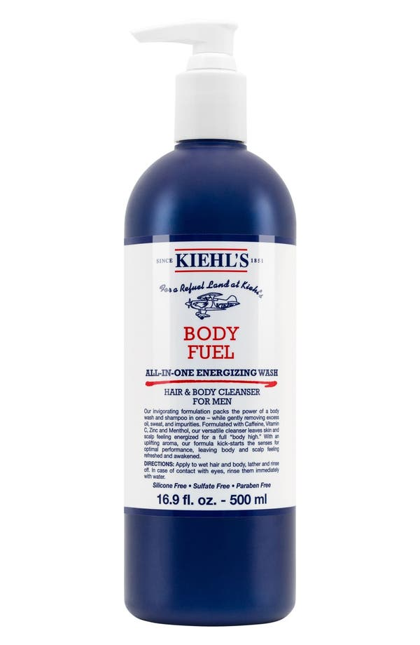 Main Image - Kiehl's Since 1851 'Body Fuel' All-in-One Energizing & Conditioning Wash