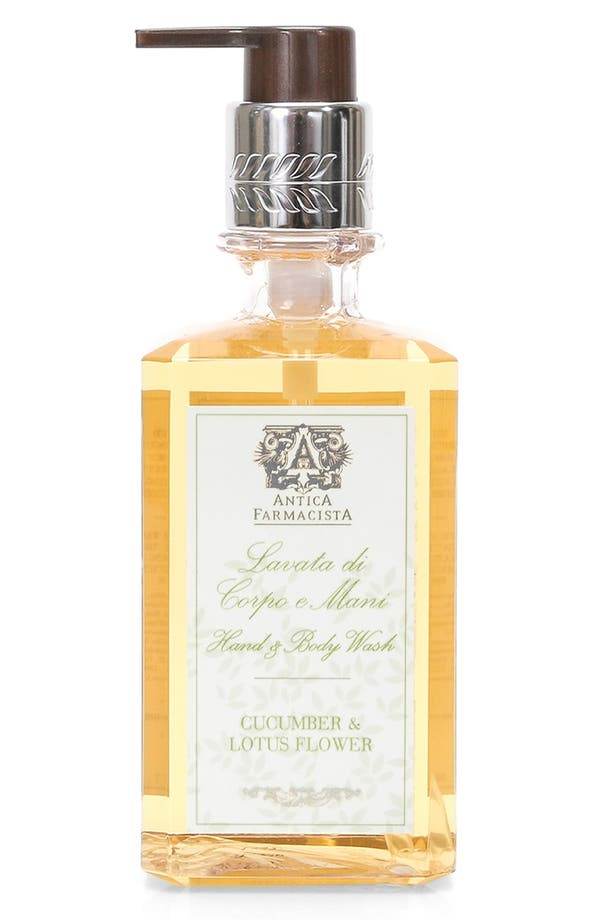 'Cucumber & Lotus Flower' Hand & Body Wash,                         Main,                         color, No Color