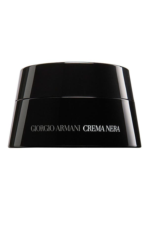 Main Image - Giorgio Armani Crema Nera 'Obsidian' Mineral Regenerating Cream