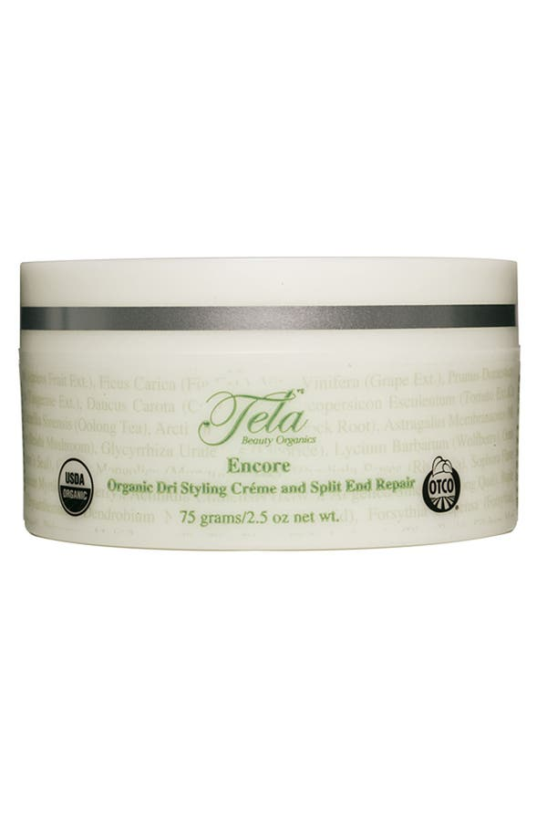 Main Image - Tela Beauty Organics 'Encore' Organic Dri Styling Créme and Split End Repair