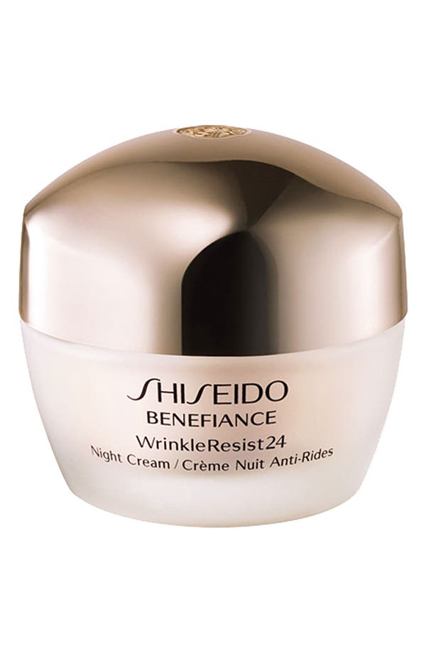 Main Image - Shiseido 'Benefiance WrinkleResist24' Night Cream