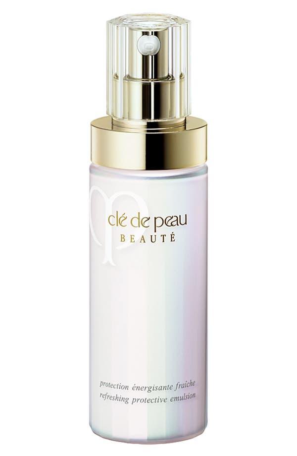 Alternate Image 1 Selected - Clé de Peau Beauté Refreshing Protective Emulsion SPF 22