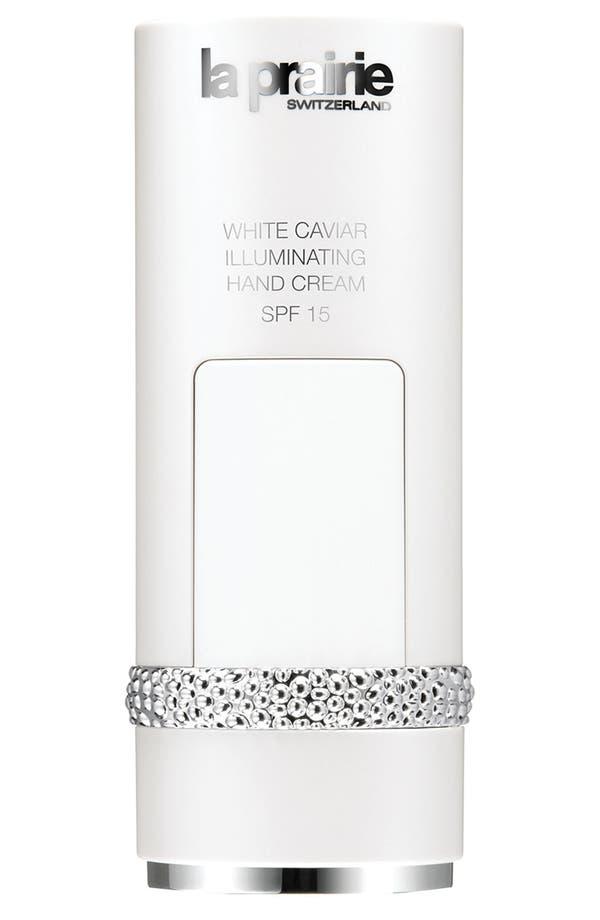 Alternate Image 1 Selected - La Prairie 'White Caviar' Illuminating Hand Cream SPF 15