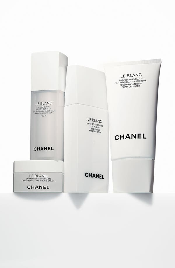 Alternate Image 2  - CHANEL LE BLANC Fresh Brightening Foam Cleanser