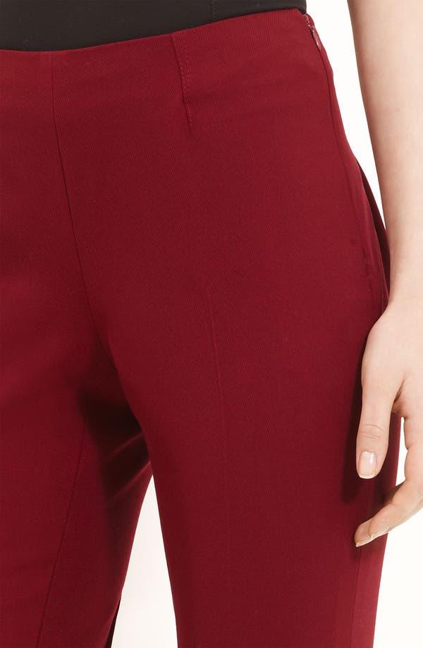Alternate Image 3  - Oscar de la Renta Stretch Twill Ankle Pants