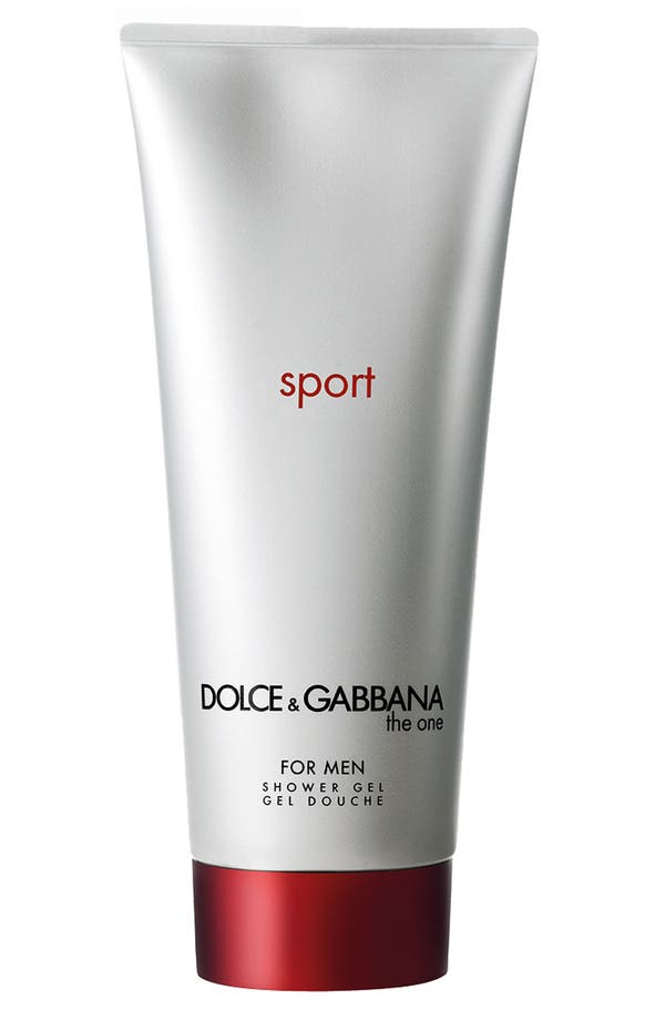 Main Image - Dolce&Gabbana Beauty 'The One for Men Sport' Shower Gel