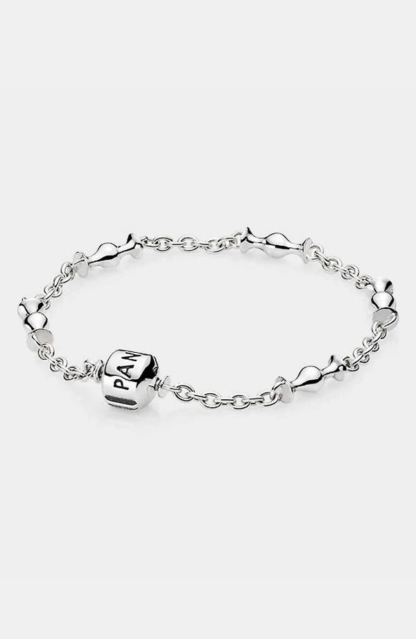 Alternate Image 1 Selected - PANDORA Five Clip Station Sterling Silver Bracelet