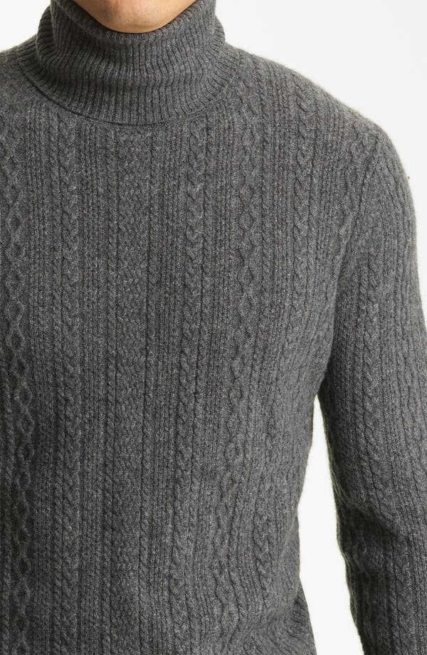 Alternate Image 3  - Billy Reid 'Elton' Cashmere Turtleneck Sweater