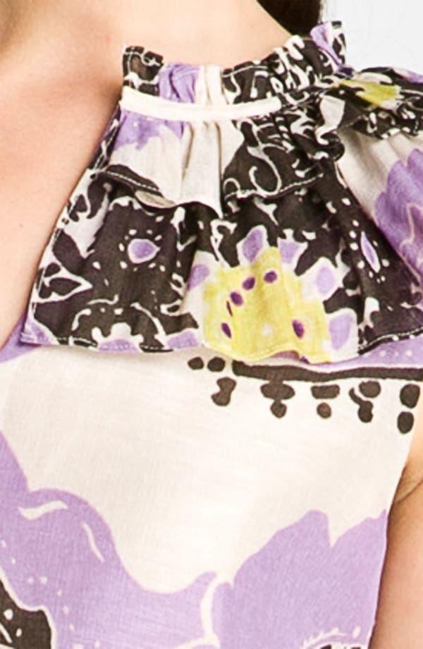 Alternate Image 3  - kate spade new york 'missy' print top