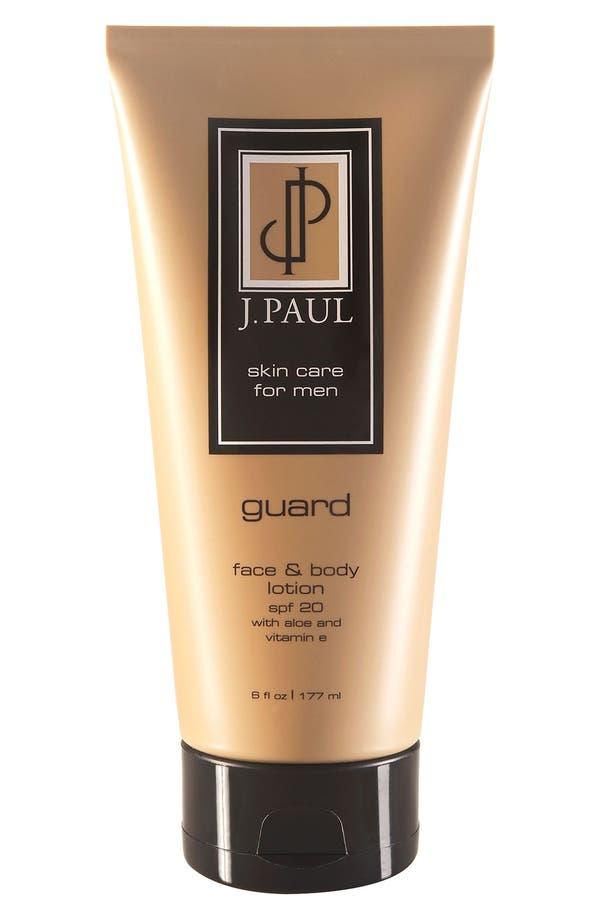 Alternate Image 1 Selected - J. PAUL Skincare 'Guard' Face & Body Lotion SPF 20