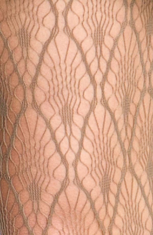 Alternate Image 2  - Nordstrom 'Nouveau Feather' Tights