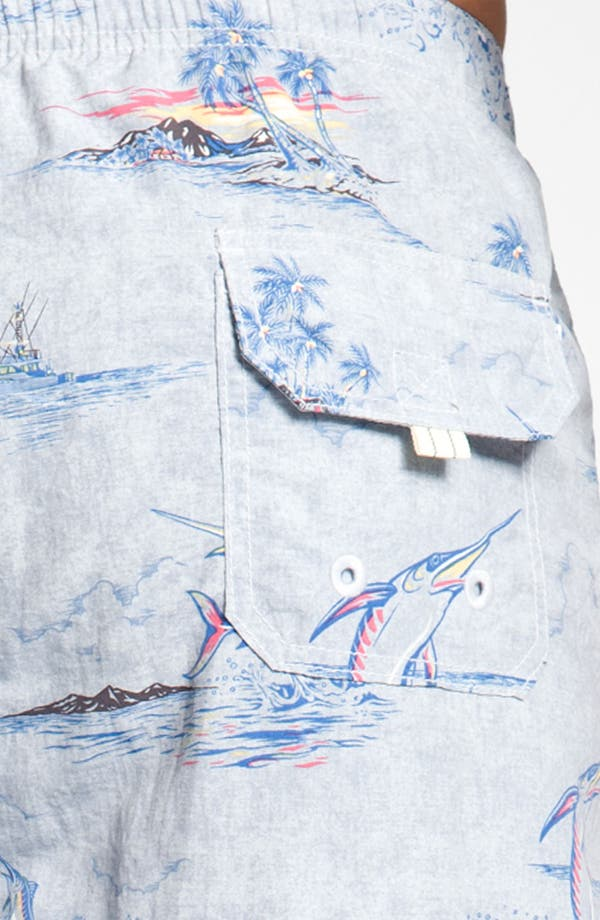 Alternate Image 3  - Tommy Bahama Relax 'Marlin and Me' Swim Shorts