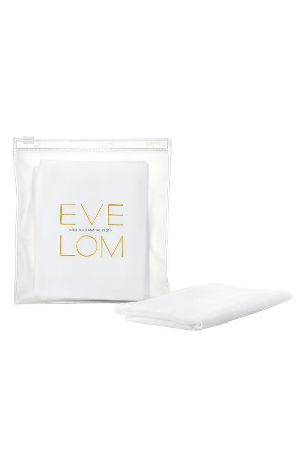Alternate Image 1 Selected - SPACE.NK.apothecary EVE LOM Muslin Cleansing Cloths (3-Pack)