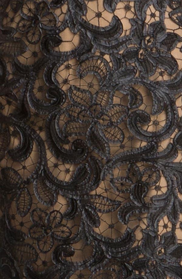 Alternate Image 3  - T by Tadashi Lace Sheath Dress