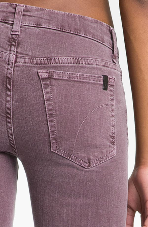 Alternate Image 3  - Joe's Skinny Stretch Denim Jeans (Port)