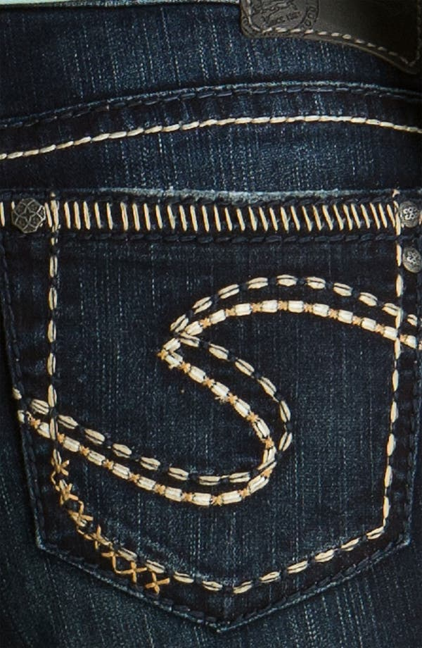 Alternate Image 3  - Silver Jeans Co. 'Aiko' Bootcut Jeans (Juniors)