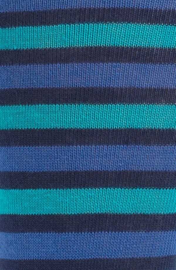 Alternate Image 2  - Lorenzo Uomo Stripe Socks