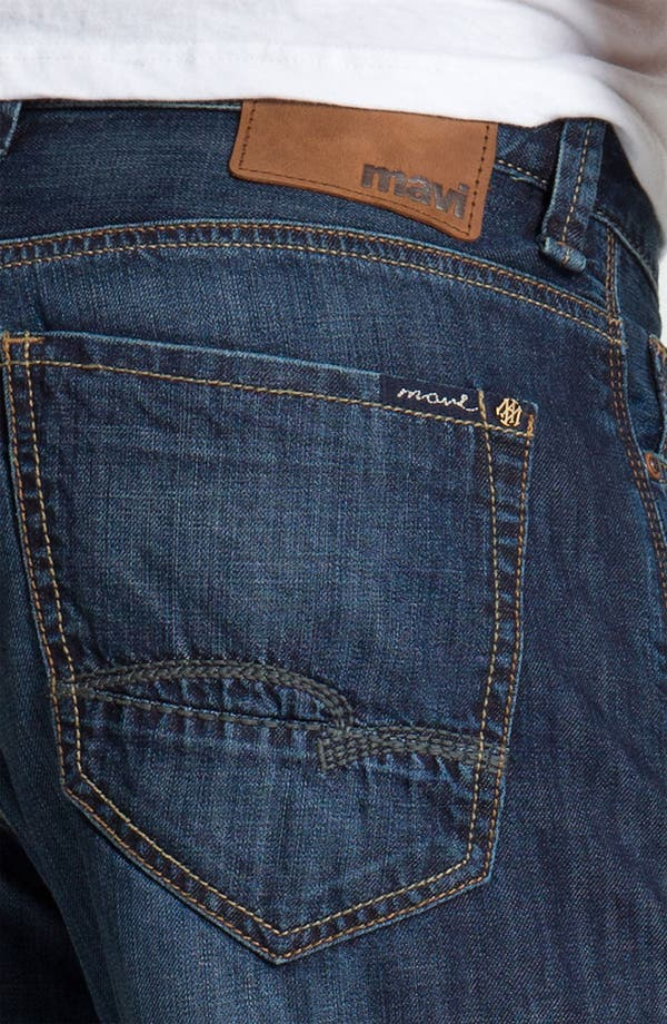 Alternate Image 4  - Mavi Jeans 'Max' Relaxed Fit Jeans (Dark Spring)