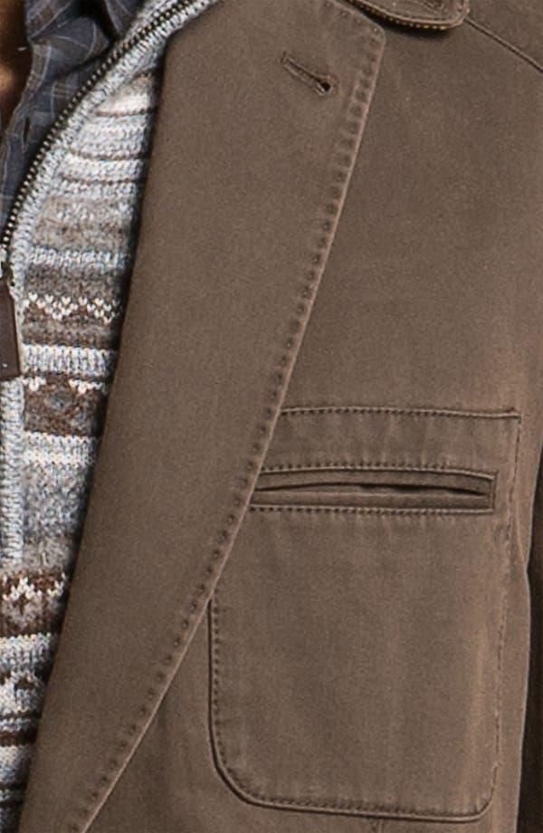 Alternate Image 3  - Kroon 'Matthews' Brushed Cotton Sportcoat