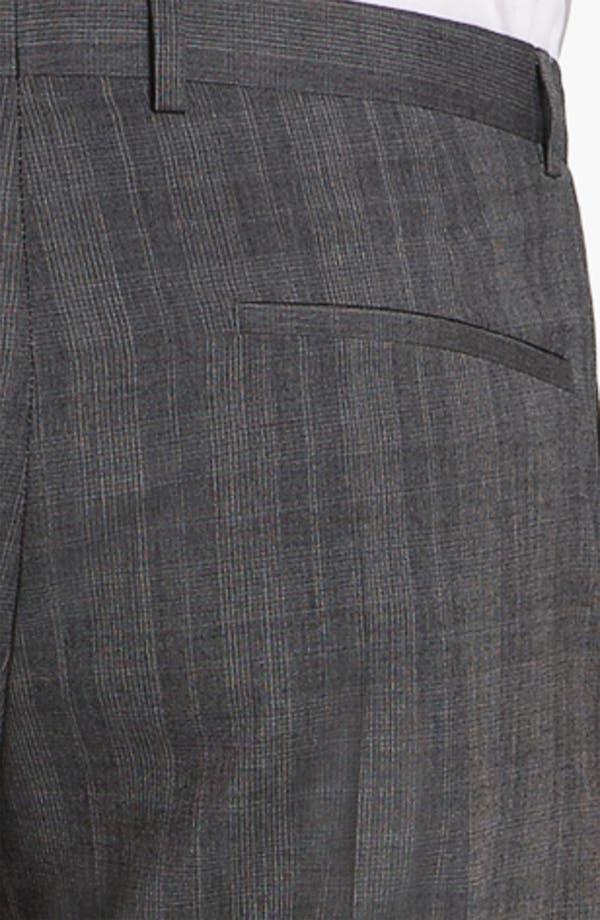 Alternate Image 3  - HUGO 'Heise' Flat Front Wool Trousers