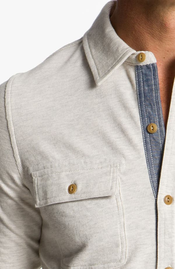 Alternate Image 3  - Façonnable Jeans Sport Shirt