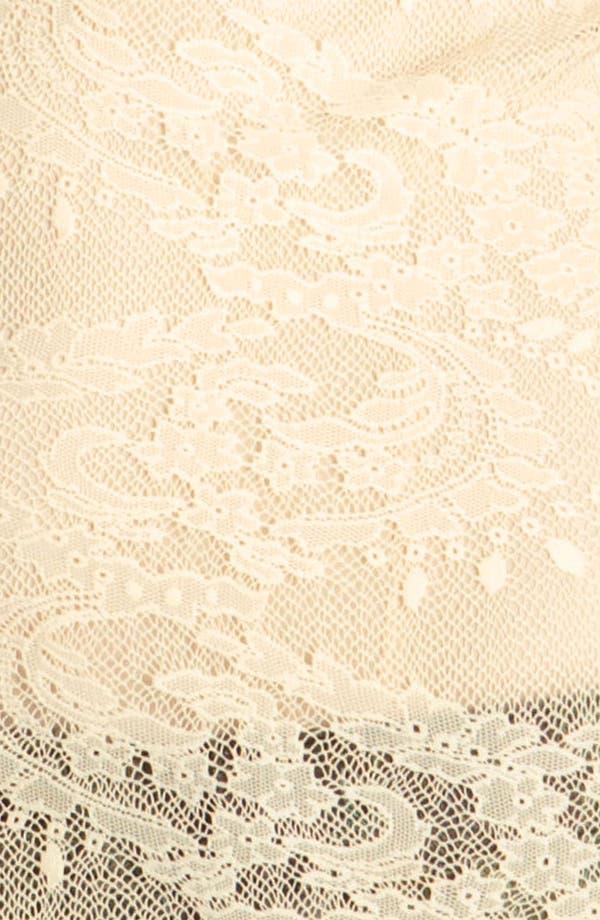 Alternate Image 3  - Ella Moss Stretch Lace Top