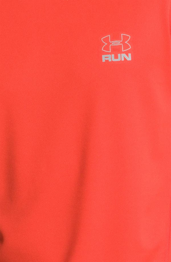Alternate Image 3  - Under Armour 'Run' HeatGear® Short Sleeve T-Shirt
