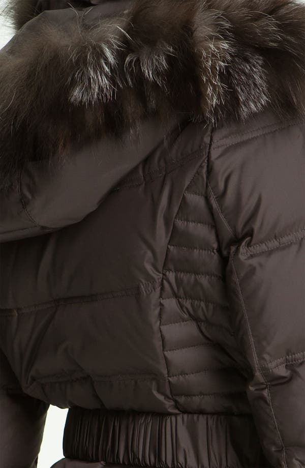 Alternate Image 3  - Dawn Levy Down Coat with Genuine Fox Fur Trim