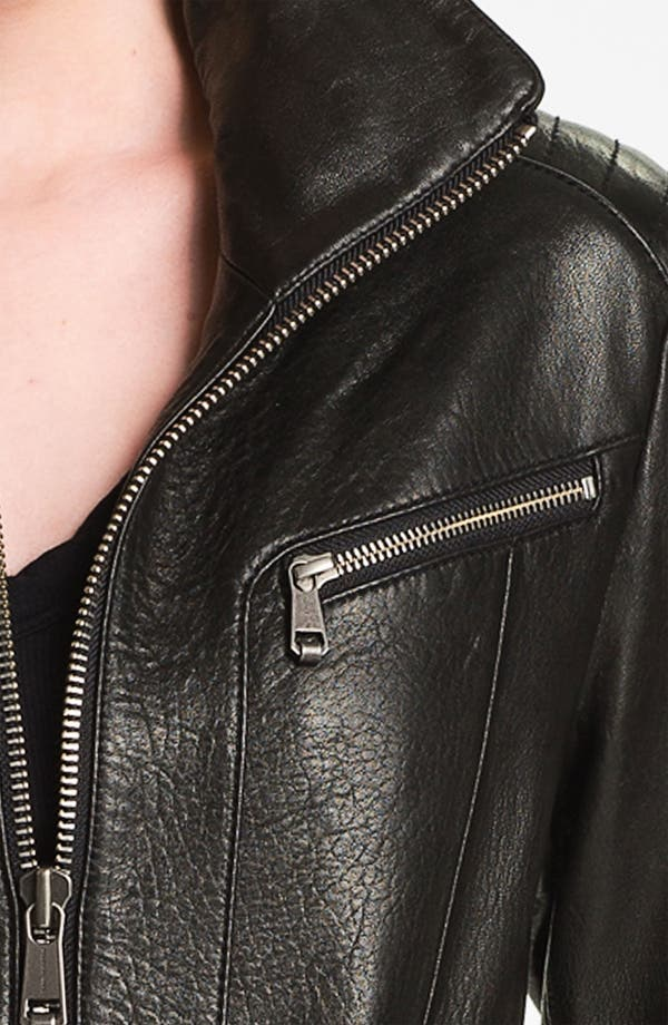 Alternate Image 3  - Andrew Marc Belted Leather Jacket