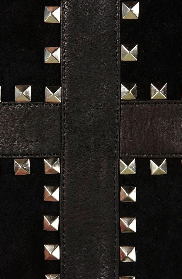 Alternate Image 5  - Topshop 'Cross' Studded Duffle