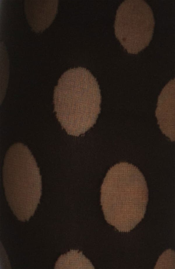 Alternate Image 2  - Pretty Polly 'House of Holland Reverse Dot' Trompe l'Oeil Tights
