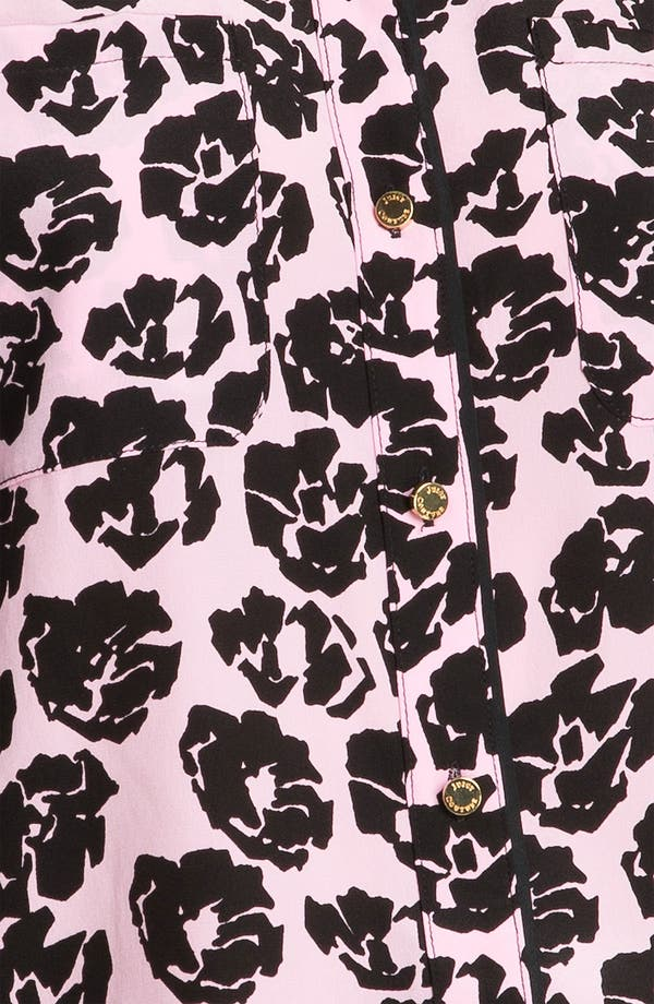 Alternate Image 3  - Juicy Couture Rose Print Shirt